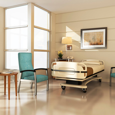 Aviera Metal Patient Hospital Room Environment